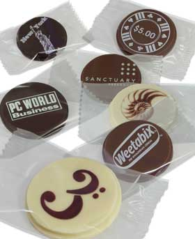 promotional chocolates